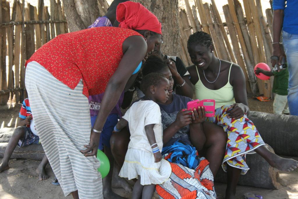 Senegalese dorp bezoeken